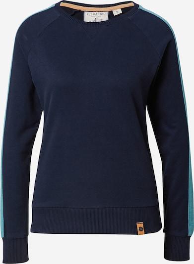 Fli Papigu Sweatshirt 'Mary Jane Hase' in navy / hellblau, Produktansicht