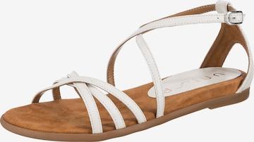 UNISA Sandale 'Carcer' in Weiß