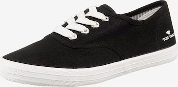 Sneaker low de la TOM TAILOR pe negru