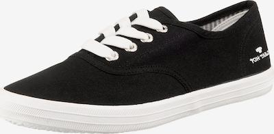 TOM TAILOR Sneaker in schwarz, Produktansicht