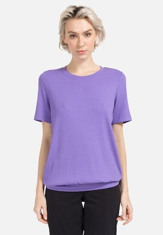 HELMIDGE Blouse in Purple