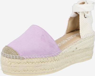 Sandale 'JAVA 30' MACARENA pe lila / alb natural, Vizualizare produs