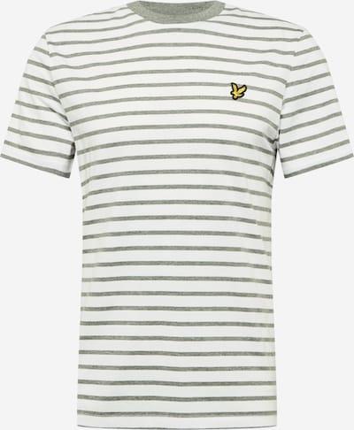 Lyle & Scott Shirt in de kleur Geel / Grijs gemêleerd / Zwart / Wit, Productweergave
