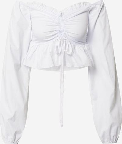 fehér Femme Luxe Blúz 'BRIA', Termék nézet