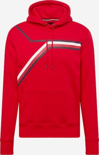 TOMMY HILFIGER Sweater majica u tamno plava / crvena / bijela, Pregled proizvoda