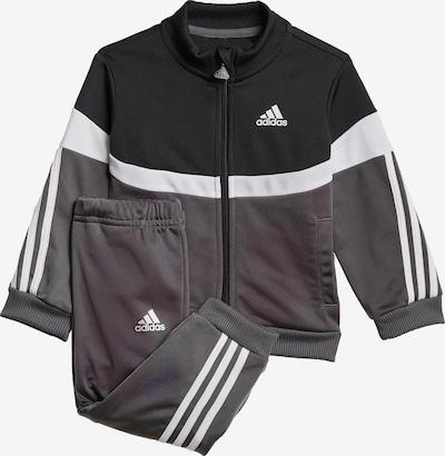 ADIDAS PERFORMANCE Trainingspak in de kleur Grijs / Zwart / Wit, Productweergave