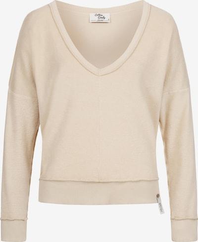 Cotton Candy Sweatpullover 'RENZA' in beige, Produktansicht