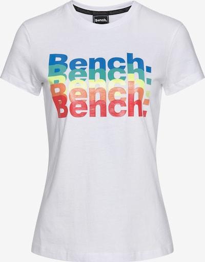 BENCH Shirt in mischfarben / weiß, Produktansicht