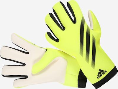ADIDAS PERFORMANCE Guantes deportivos 'X GL TRN' en amarillo neón / negro / blanco, Vista del producto