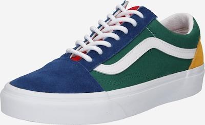 VANS Niske tenisice 'Old Skool' u plava / žuta / zelena / bijela, Pregled proizvoda