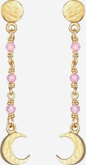 ELLI Boucles d'oreilles en or / rose, Vue avec produit
