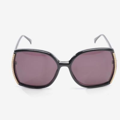 Linda Farrow Sonnenbrille in One Size in schwarz, Produktansicht