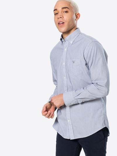 GANT Koszula 'BANKER' w kolorze atramentowy / białym, Podgląd na modelu(-ce)