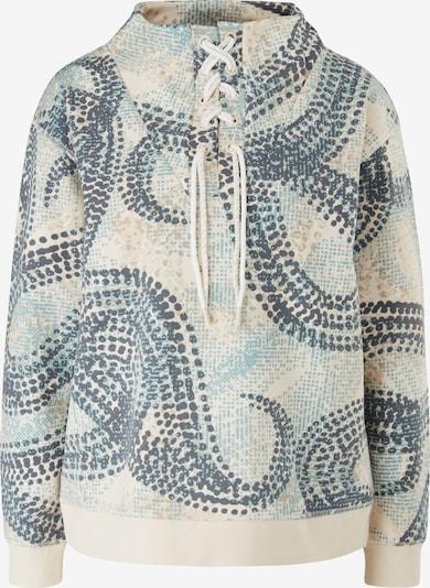 s.Oliver Sweatshirt in sand / blau, Produktansicht