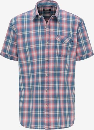 PIONEER Hemd in hellblau / rosa / weiß, Produktansicht