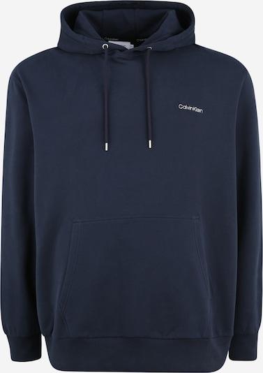 Calvin Klein Sweatshirt in dunkelblau / weiß, Produktansicht