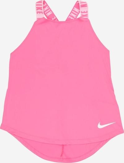 NIKE Sportovní top - pink / růžová / bílá, Produkt