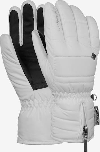 REUSCH Athletic Gloves 'Martina' in Black / White, Item view