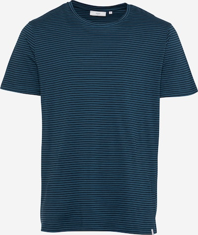 Tricou 'LUKA' minimum pe azuriu / negru, Vizualizare produs