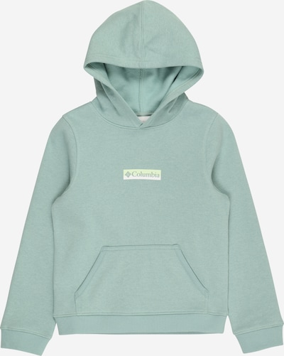 COLUMBIA Sweatshirt in grün / weiß, Produktansicht