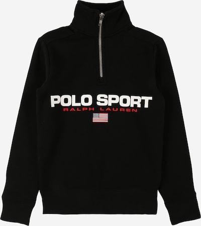 POLO RALPH LAUREN Sweatshirt in de kleur Marine / Rood / Zwart / Wit, Productweergave