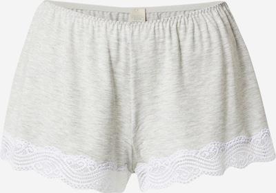 Dorina Pantalon de pyjama 'Frost' en gris clair, Vue avec produit