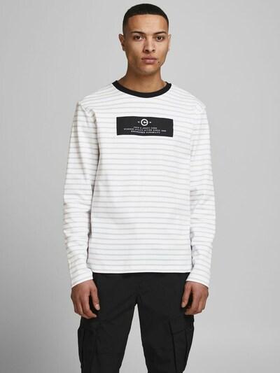 JACK & JONES Shirt in de kleur Taupe / Lichtgrijs / Zwart: Vooraanzicht