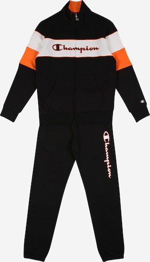 Champion Authentic Athletic Apparel Trainingsanzug in orange / schwarz / weiß, Produktansicht