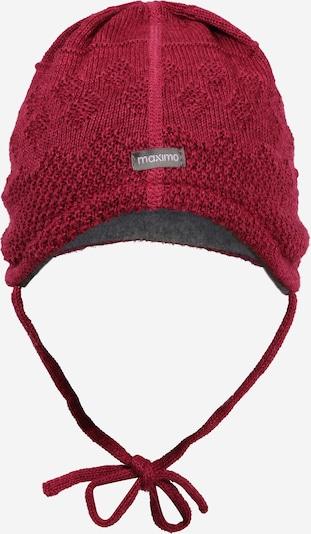 MAXIMO Mütze in weinrot, Produktansicht