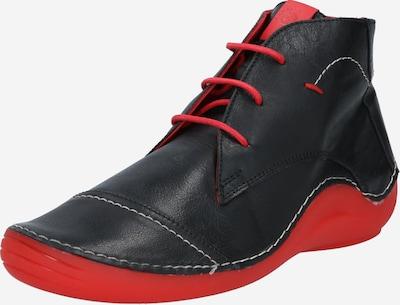 COSMOS COMFORT Schnürhalbschuh in rot / schwarz, Produktansicht