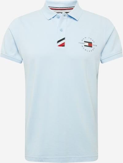 TOMMY HILFIGER T-Shirt en bleu marine / bleu clair / rouge / blanc, Vue avec produit