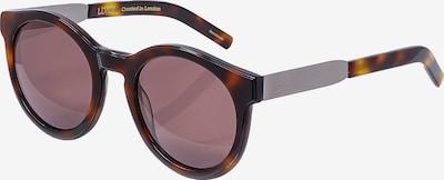 LDNR Retrosonnenbrille COMPTON in braun, Produktansicht