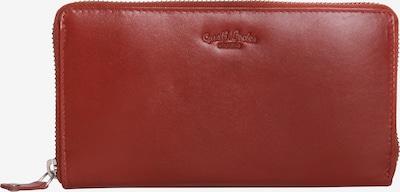 Gusti Leder Brieftasche 'Iris' in rot / bordeaux / karminrot, Produktansicht