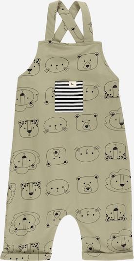 Kombinezonas su petnešomis 'Cub Faces' iš Turtledove London, spalva – alyvuogių spalva / juoda / balta, Prekių apžvalga