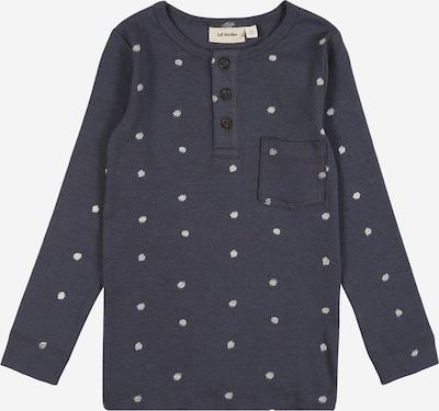 Lil ' Atelier Kids Shirt 'GEO' in de kleur Marine / Wit, Productweergave
