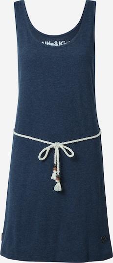 Alife and Kickin Robe 'Jennifer' en bleu-gris / corail / blanc, Vue avec produit