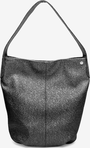 Gretchen Handbag 'Carnation Hobo' in Silver