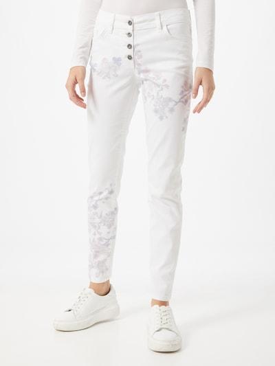 LASCANA Hose in mischfarben / weiß, Modelansicht