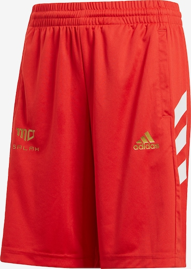 ADIDAS PERFORMANCE Shorts 'Sala' in gold / hellrot / weiß, Produktansicht