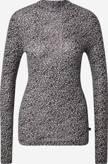Q/S by s.Oliver T-shirt en gris / noir, Vue avec produit