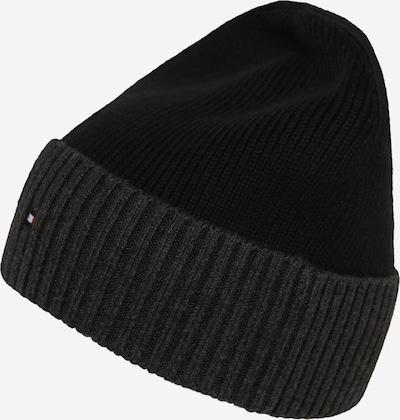 Megzta kepurė 'PIMA' iš TOMMY HILFIGER , spalva - juoda, Prekių apžvalga