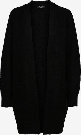 SELECTED FEMME Strickjacke in schwarz, Produktansicht