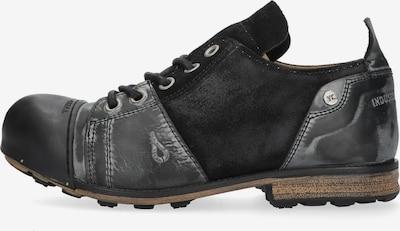YELLOW CAB Schnürschuh 'INDUSTRIAL 9-B' in schwarz, Produktansicht