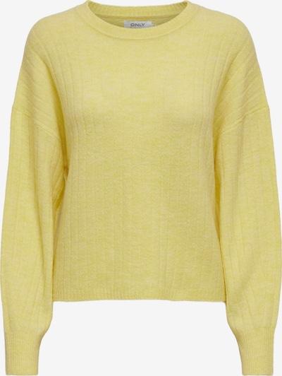 ONLY Pull-over 'Corinne' en jaune clair, Vue avec produit