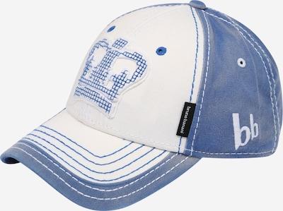 BRUNO BANANI Cap in blue denim / weiß, Produktansicht