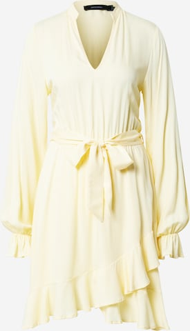 NU-IN Skjortklänning i gul