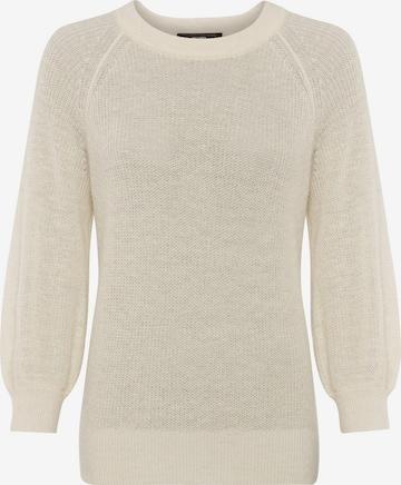HALLHUBER Oversized Sweater in Beige