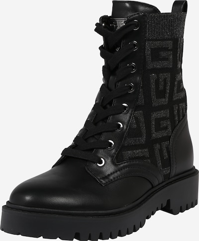 GUESS Lace-up bootie in Anthracite / Black, Item view
