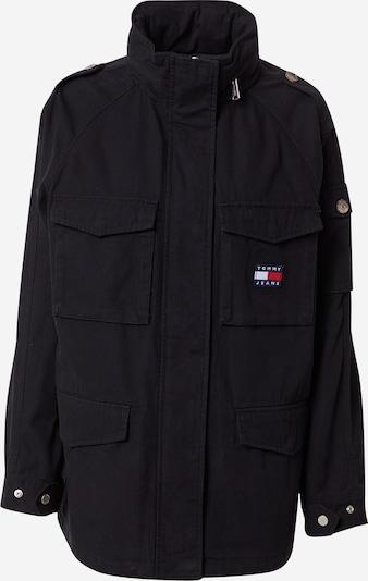 Tommy Jeans Prechodná bunda - námornícka modrá / červená / čierna / biela, Produkt