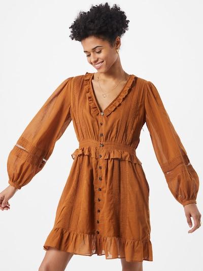 SCOTCH & SODA Kleid in braun, Modelansicht